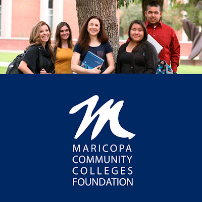 image of MCCCDF scholars and logo