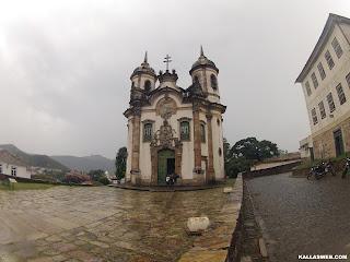 Igreja de São Francisco de Assis. Ouro Preto/MG.
