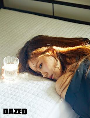 Hyomin T-ara Dazed & Confused April 2016