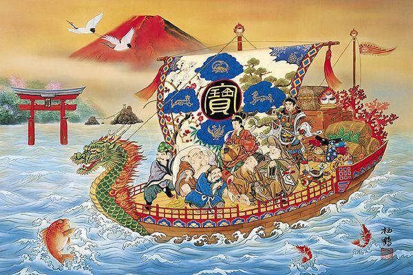 เทพเจ้าแห่งโชคลาภของญี่ปุ่น (Seven Lucky Gods: 七福神)