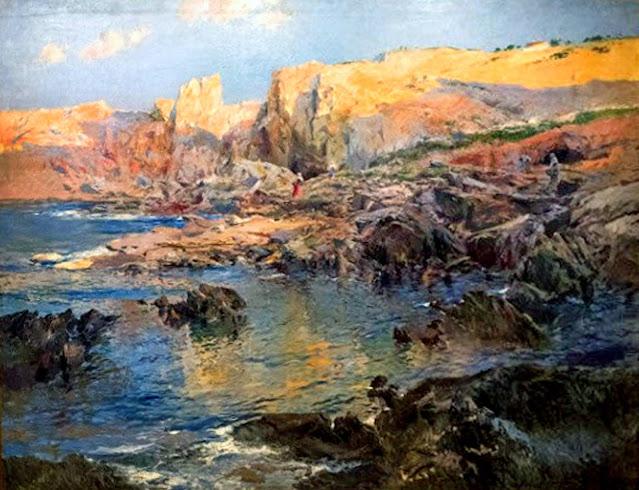 Eliseu Meifrèn i Roig, Cadaqués, pintor español, Painting of Cadaqués, Cala Culip, Alejandro Cabeza,