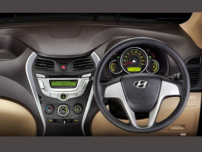 Hyundai EON stearing wheel & dashbord
