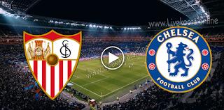 مشاهدة مباراة تشيلسي واشبيلية بث مباشر بتاريخ 20-10-2020 في دوري أبطال أوروبا