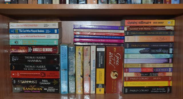 Paolo Coelho, Fiction Shelf, Og Mandino