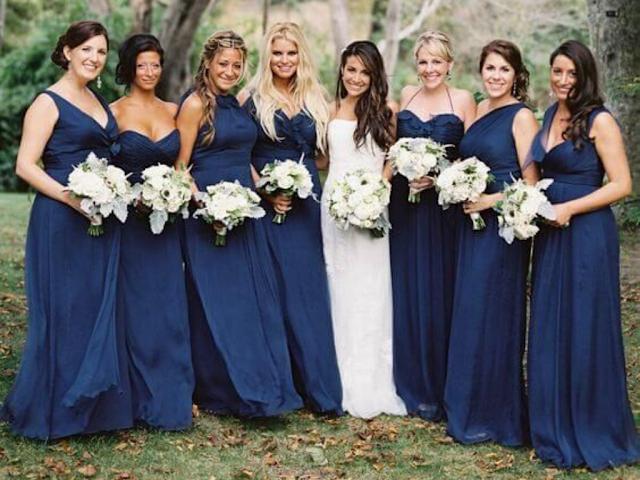 classic blue casamento