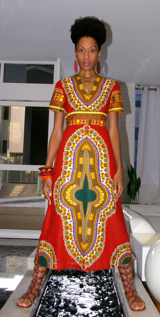 If you want to include an African dress in your summer wardrobe, you can find a nice selection on eBay as well as everything you need to make the cultural creation yourself. African prints come in a wide range of colors and feature interesting motifs inspired by Africa's tribal cultures.