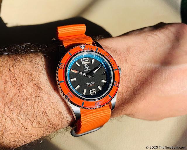 Seaborne Sea Venture Sunrise Bezel wrist