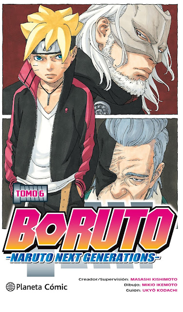 Boruto: Naruto Next Generations vol.6 de Ukyô Kodachi y Mikie Ikemoto - Planeta Cómic
