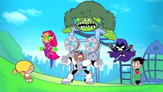 Teen Titans Go Background