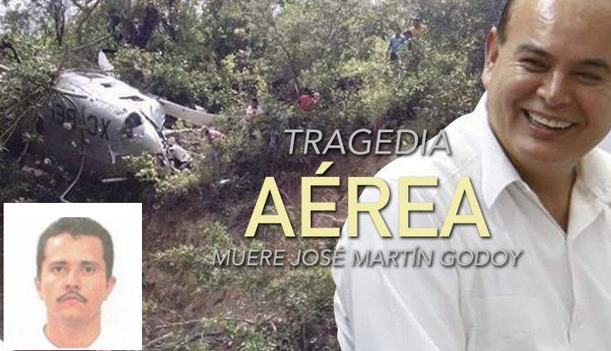 Se los dijimos El Mencho no estaba contento con Martin Godoy Castro secretario de Seguridad Pública de Michoacan, derriban su helicóptero