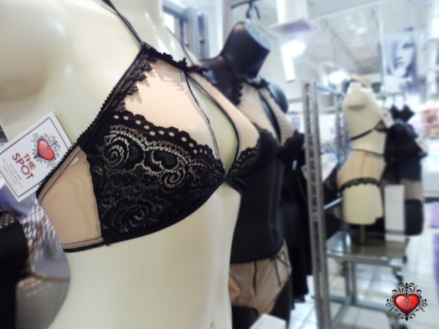 Nude and Black lingerie by Mapale at The Spot Dallas