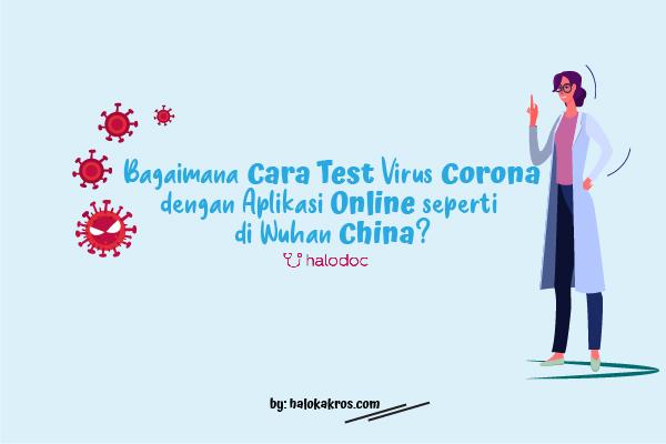Cara Test Corona dengan Aplikasi Online