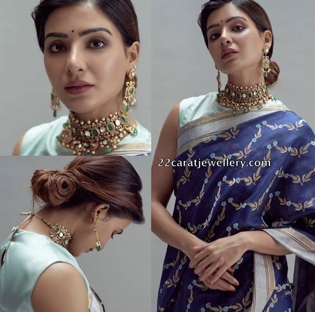 samantha Akkineni at Rana and Miheeka wedding