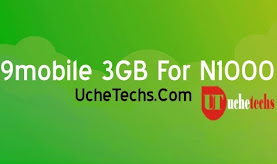 9mobile 3GB For N1000