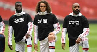 Black Lives Matter have been written on Premier League Players for the first 12 games of the when the Premiership League resume for 2019/20 season