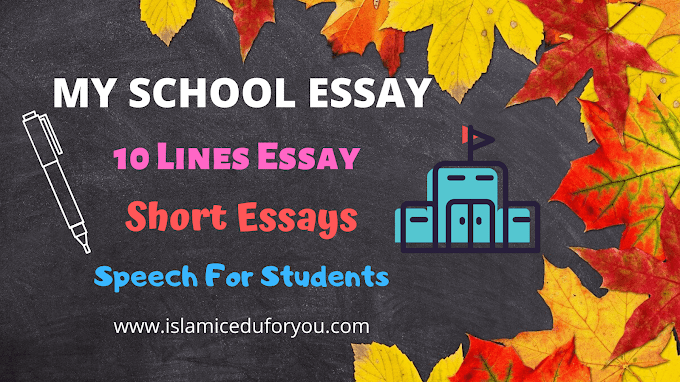 My School Essay | 10 Lines, Short Essays & Speech For Students