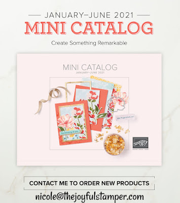 stampin' up! mini catalog, january - june 2021 mini catalog, craft supplies, handmade cards, homemade cards, paper crafts, paper crafting, stamping, rubber stamping, nicole steele, the joyful stamper, independent stampin' up! demonstrator, pittsburgh pa