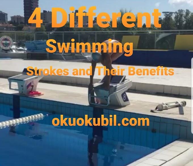 4 Farklı Yüzme Vuruşu Ve Yararları