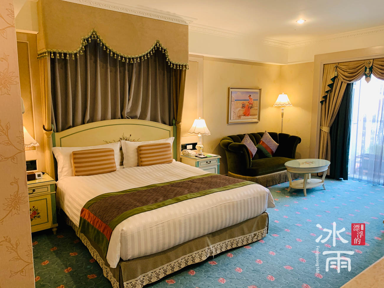 首都大飯店|網美房主床