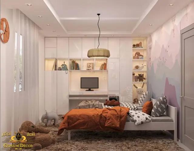 غرف نوم اطفال كتالوج غرف نوم الأطفال بالدولاب والتسريحة