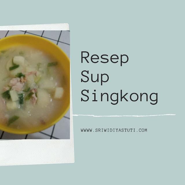 Resep Sup Singkong
