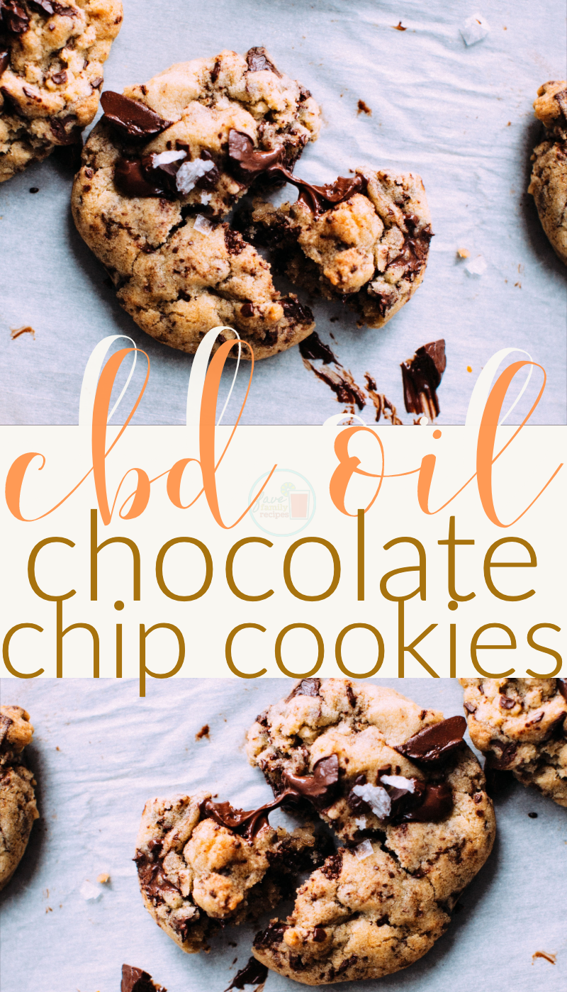 cbd oil chocolate chip cookies