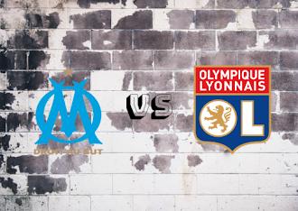 Olympique Marseille vs Olympique Lyonnais  Resumen y goles