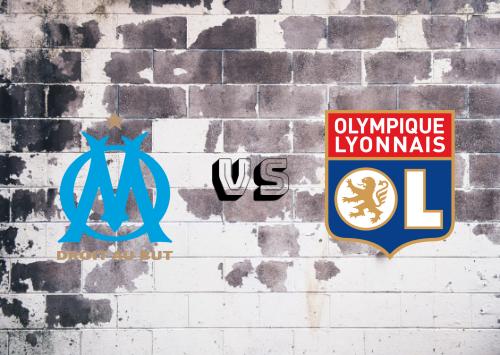 Olympique Marseille vs Olympique Lyonnais  Resumen