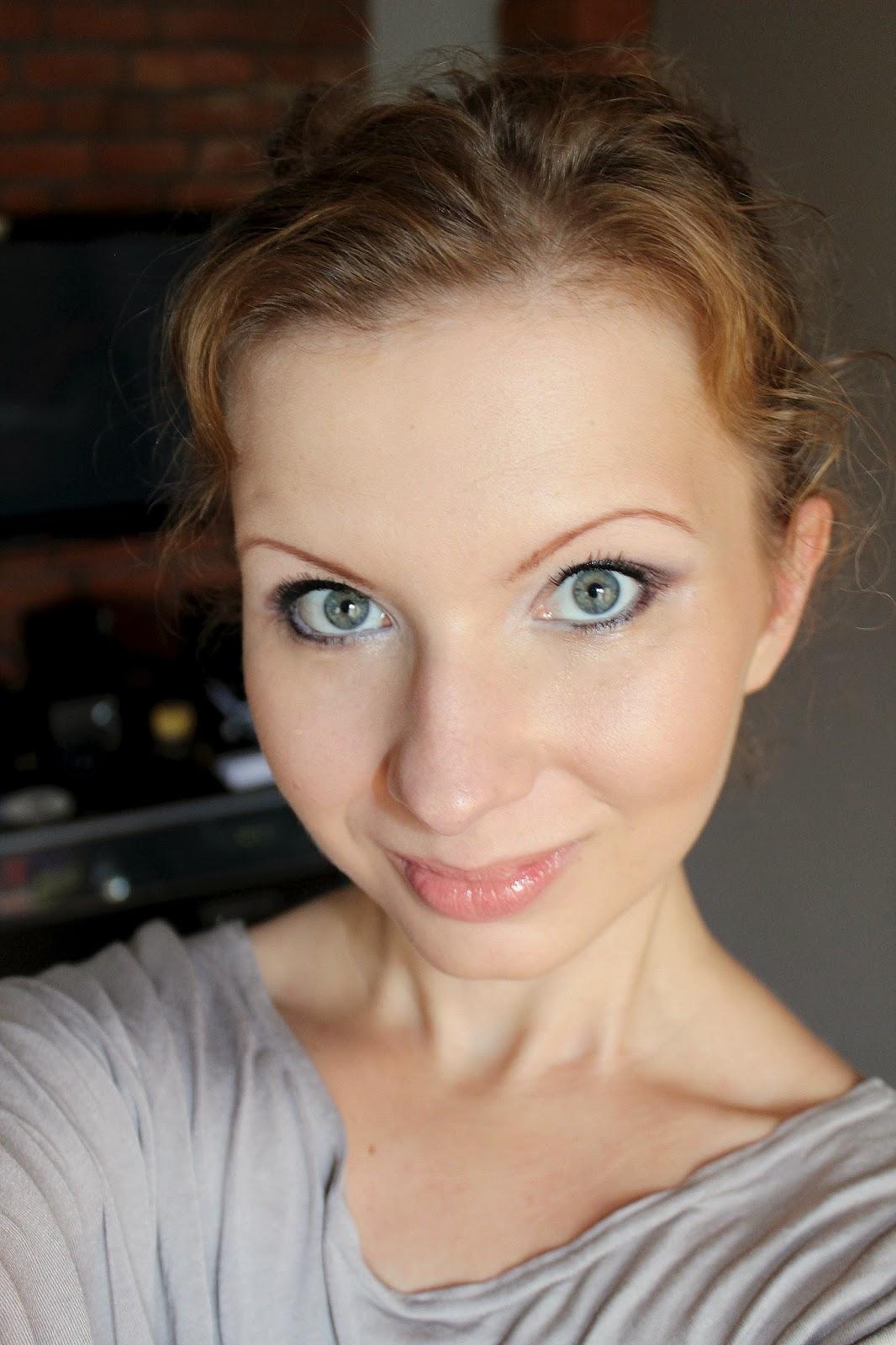 Brązowy Makijaż Dla Niebieskich Oczu żurnalistka Blog Urodowo