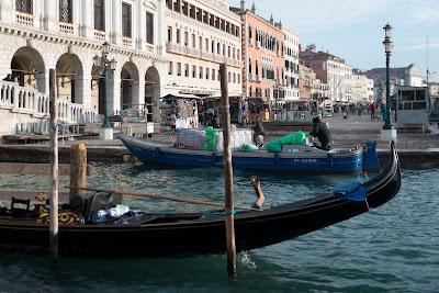 Winter work in Venice