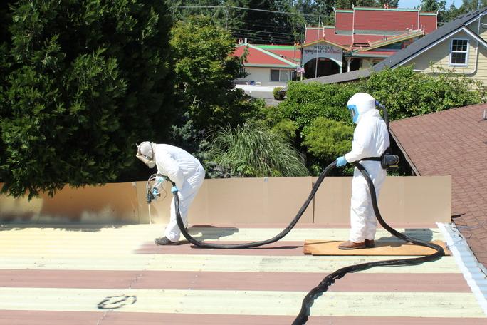Polyurea Coatings For Leaking Roofs