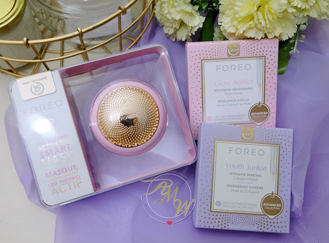 Glow addict and Youth Junkie by FOREO UFO review