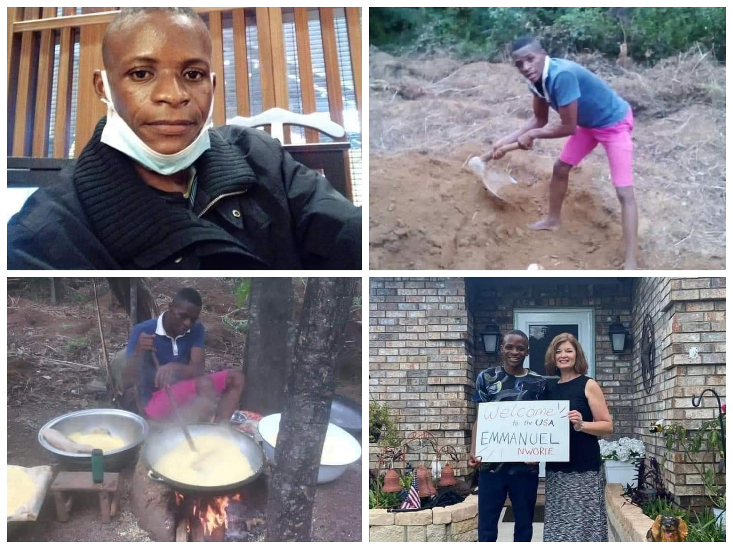 Do You Remember The UNN First Class Graduate Who Makes Living From Frying Garri? See What Happened To Him