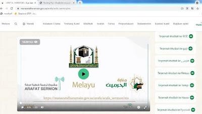 Mari Mendengarkan Khutbah Arafah Sore Ini dengan 10 Bahasa