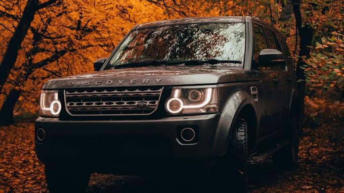 Papel de Parede Masculino Land Rover Discovery
