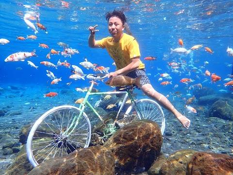 Snorkeling Anti Mainstream di Umbul Ponggok Klaten