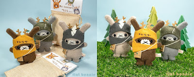 San Diego Comic-Con 2019 Exclusive Mini Jackalope Plush Blind Bag Series by Flat Bonnie
