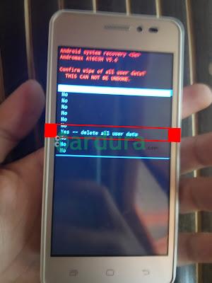 Cara Mudah Membuka Pola atau Kata Sandi yang Lupa di HP Smartfren Andromax