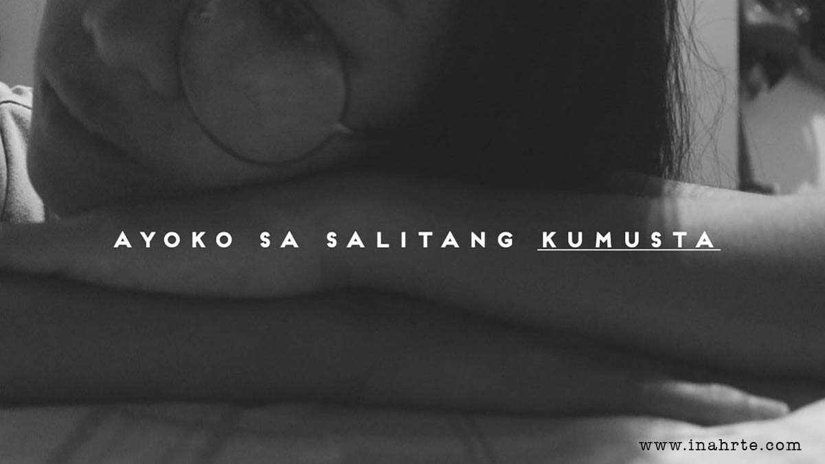 woman in black and white | kumusta
