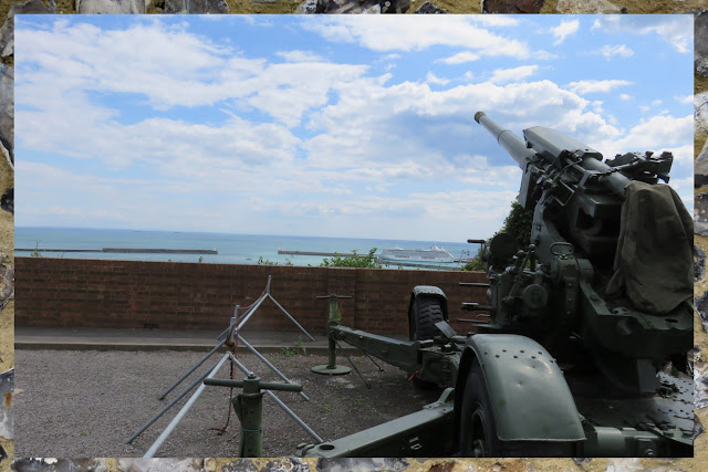 Day Trip to Dover: WWII era guns overlooking the English Channel