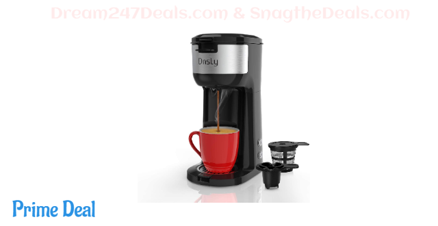 Dnsly Coffee Maker Single Serve 50% off