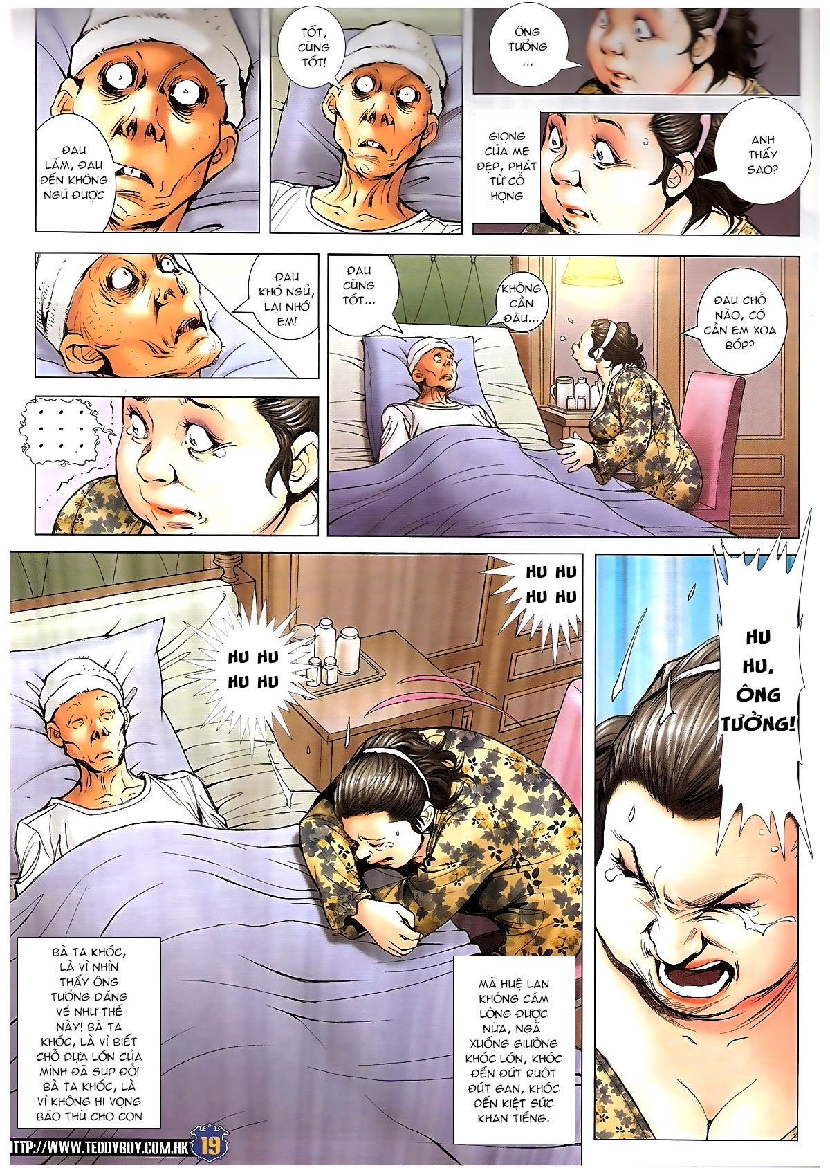 Người Trong Giang Hồ chapter 1642: anh hùng khí đoản trang 18