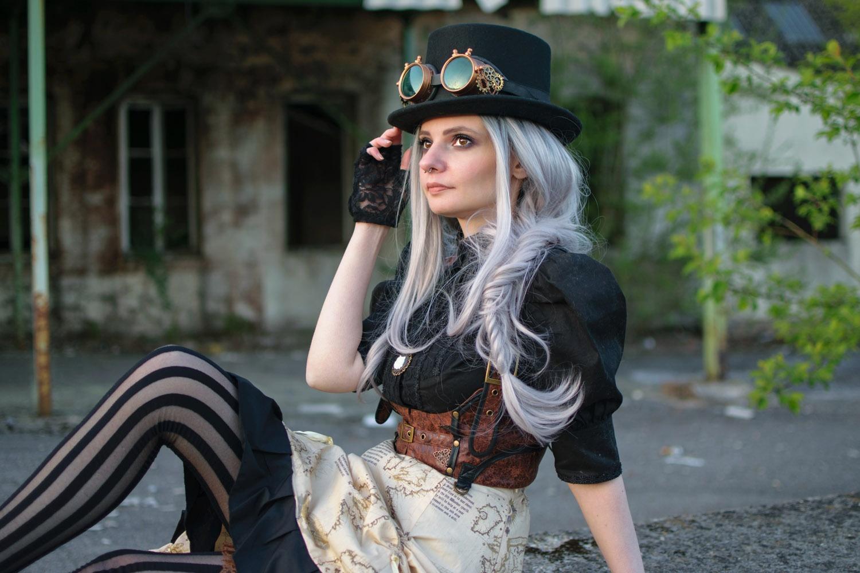 Lady steam darkrevette mode alternative blog artistique et cruelty free - Steampunk style vestimentaire ...