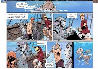 L'accident au départ de la guerre des sirènes et des vikings