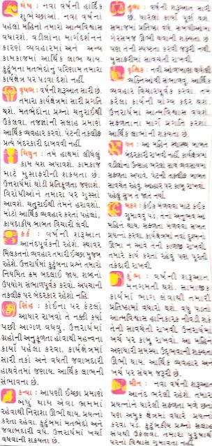 January - Gujarati Rashifal and Rashi Bhavishya 2021