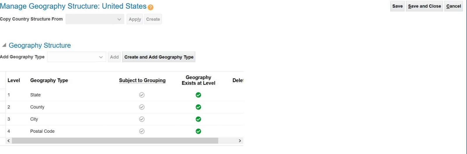 Manage Geographies 1
