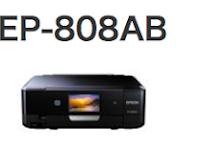 Epson EP-808AB ドライバー・ソフトウェアダウンロード