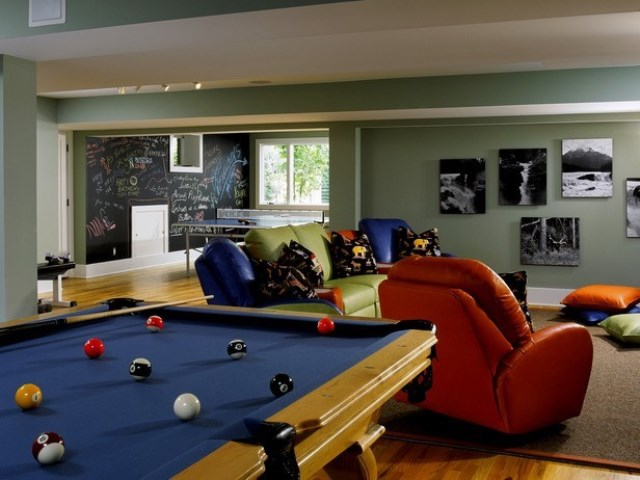 Invest in a cool rec room