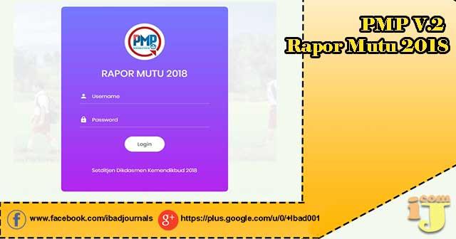 pmp.dikdasmen.kemdikbud.go.id/v2 : Cara Download Rapor Mutu PMP Format Excel