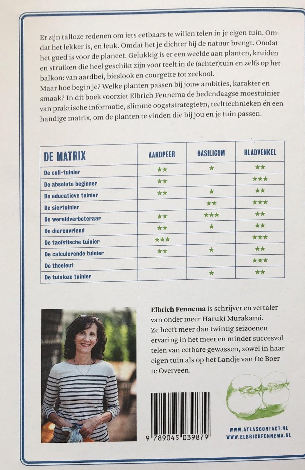 elbrich fennema moestuinierboek recensie